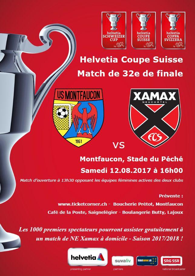 Affiche Helvetia Coupe Suisse 2017-2018
