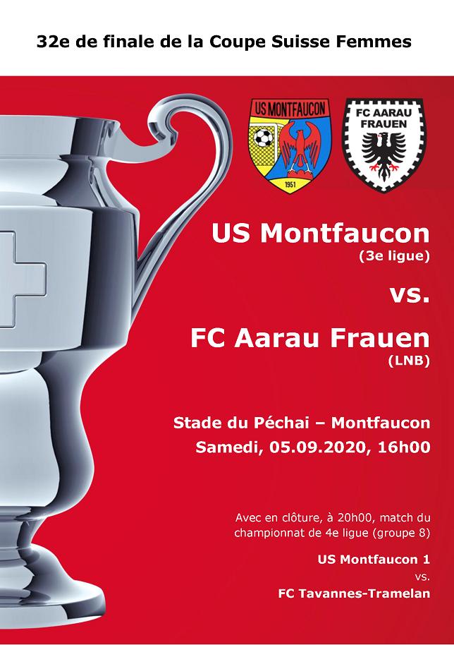 Affiche Coupe Suisse Féminine 2020-2021